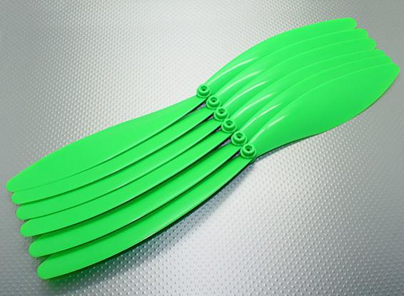 GWS EP Propeller (RD-1510 381X254mm) Groen (6pcs / set)