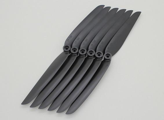 GWS EP Propeller (DD-7035 178x89mm) zwart (6pcs / set)