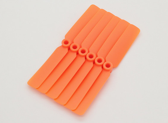 GWS EP Propeller (DD-4025 102x64mm) orange (6pcs / set)