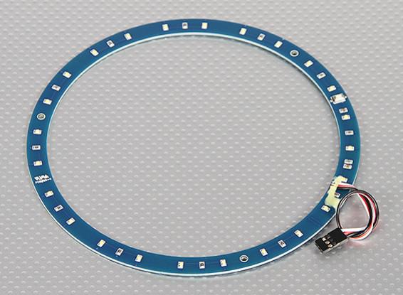 LED Ring 165mm White w / 10 instelbare modi