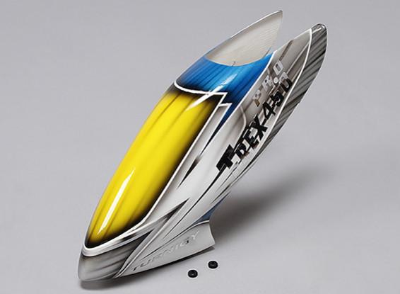 Turnigy High-End Fiberglass Canopy voor Trex / HK 450 PRO