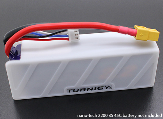 Turnigy zachte siliconen Lipo Battery Protector (1600-2200mah 3S-4S White)