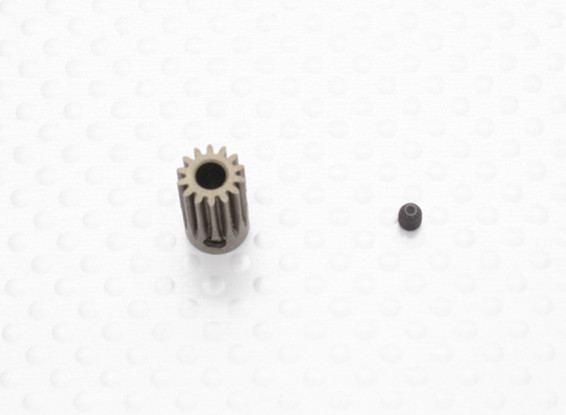 """""""Hard One"""" 0,5M Geharde Helicopter Pinion Gear 3.5mm Shaft - 14T"""