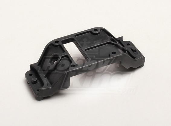 Center Differential Cover - Turnigy Trailblazer 1/8, XB en XT 05/01