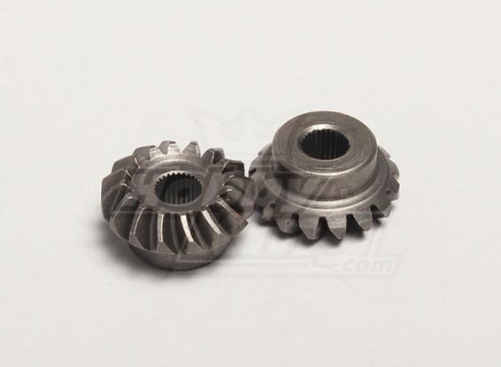 Nutech Differential Bevel Gear (Main) (2 stuks / zak) - Turnigy Twister 1/5