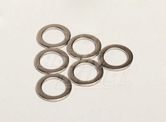 Wasmachine 12 * 8.1 * 1.0T (6 stuks) - Turnigy Titan 1/5