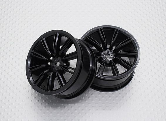 01:10 Scale High Quality Touring / Drift Wheels RC Car 12mm Hex (2pc) CR-VIRAGENB