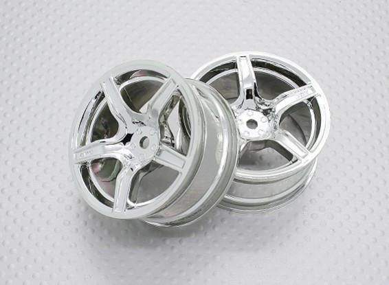 01:10 Scale High Quality Touring / Drift Wheels RC Car 12mm Hex (2pc) CR-C63C