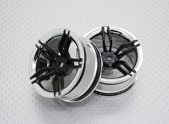 01:10 Scale High Quality Touring / Drift Wheels RC Car 12mm Hex (2pc) CR-FFK