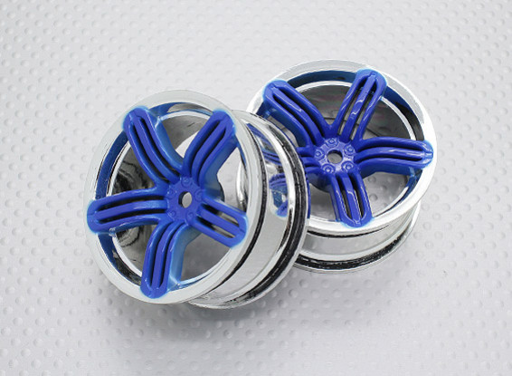 01:10 Scale High Quality Touring / Drift Wheels RC Car 12mm Hex (2pc) CR-RS6B