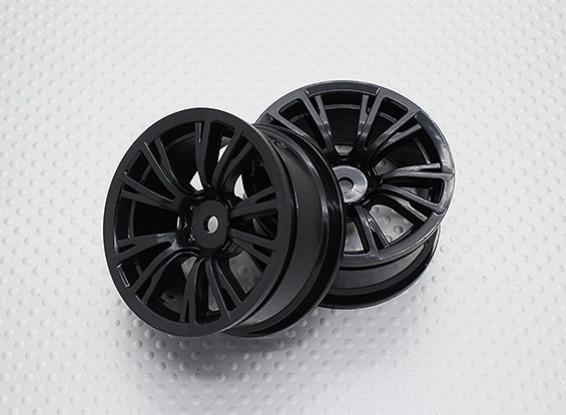 01:10 Scale High Quality Touring / Drift Wheels RC Car 12mm Hex (2pc) CR-BRNB