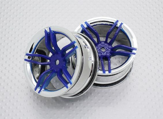 01:10 Scale High Quality Touring / Drift Wheels RC Car 12mm Hex (2pc) CR-FFB