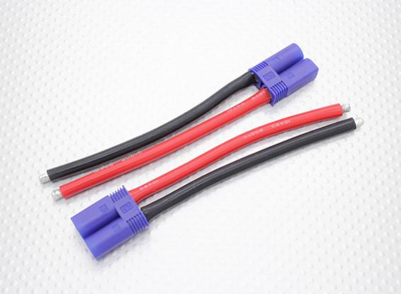 EC5 plug Male 10AWG 10cm (2 stuks / zak)