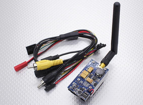 Skyzone TX51W 5.8GHz 1 Watt 8 kanaals Audio / Video Transmitter FPV