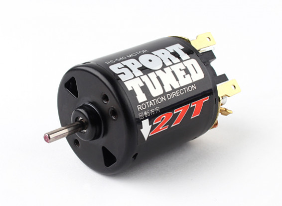 RS540-27T Sport Tuned Brushed Motor