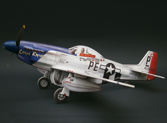 MicroAces P51 D Mustang Cripes A Mighty Micro Airplane Depron Standard Kit
