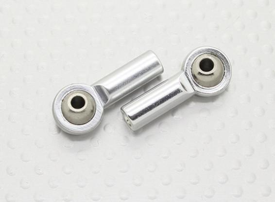 Metal Ball Joints (linkse draad) M3 x 26mmx 3mm - 2 stuks