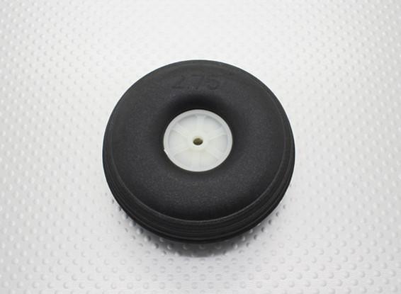 """2.75 """"/ 70mm Ultra Light Rubber PU Schaal Wheel"""
