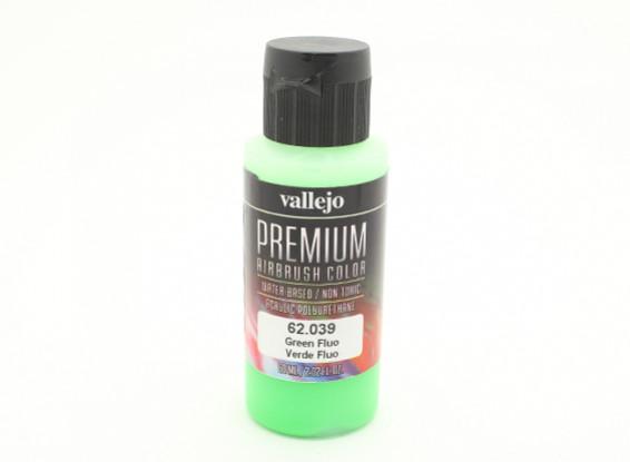 Vallejo Premium Color Acrylverf - Green Fluo (60 ml)