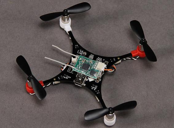 HobbyKing Pocket Quad V1.1 Ultra-Micro DSM2 MultiWii Quadcopter (PNF)