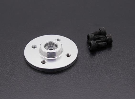 Super Heavy Duty CNC Metal Servo Disk - JR / Sanwa (Silver)