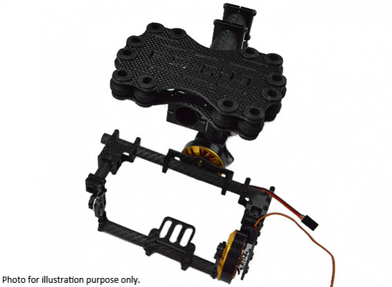 GH2 / 3 Storm Eye Brushless Gimbal Full Carbon Kit (Mini DSLR)
