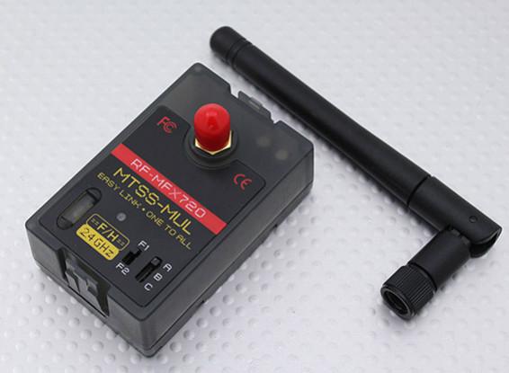 RF-MFX720-F / H Module Series Multi-Protocol Spectrum System (MTSS-Mul) Futaba / Hitec