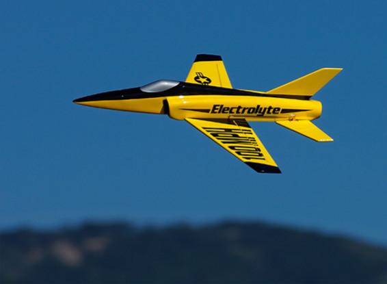 HobbyKing ™ elektrolyt 40mm EDF Micro Jet Composite 508mm (ARF)