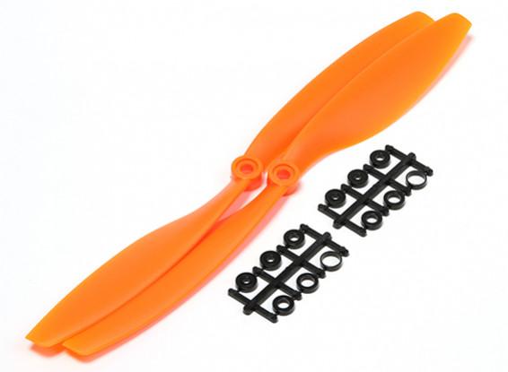 Turnigy Slowfly Propeller 10x4.5 Orange (CW) (2 stuks)