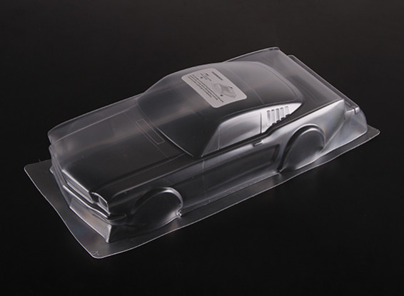 01:10 Ford Mustang Clear Body Shell