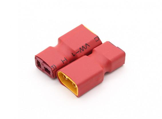 XT60 naar T-connector Battery Adapter Lead (2pc)