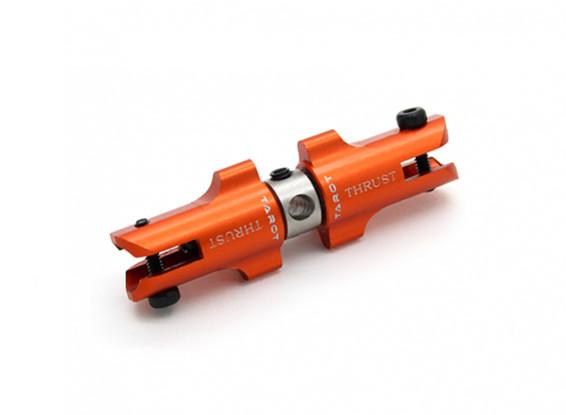 Tarot 450 Pro / Pro V2 DFC Metal Tail Holder Set met Thrust Bearings - Orange (TL45034-04)
