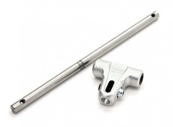 Tarot 450 DFC Low Profile Main Rotor Behuizing met Spil - Zilver (TL45163A)