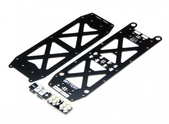 Dart 250 Vervanging lager VOB Frame set en LED