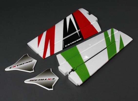 Extreme 3D 1100mm - Vervanging Wing Set