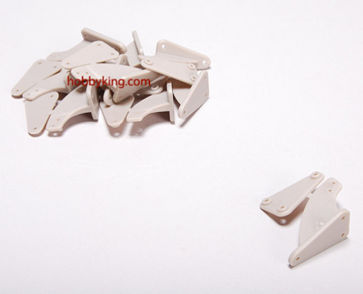 Controle Horns (LARGE) 50x26mm (10st / bag)