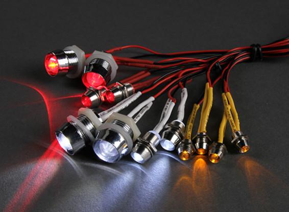 Nieuw GT Vermogen 12 Piece Super Bright LED verlichting set voor RC Cars WZ-79