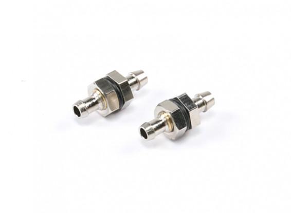 Messing Fuel Pick Up Fitting L23 × D10 × D5mm 5g (2 stuks)