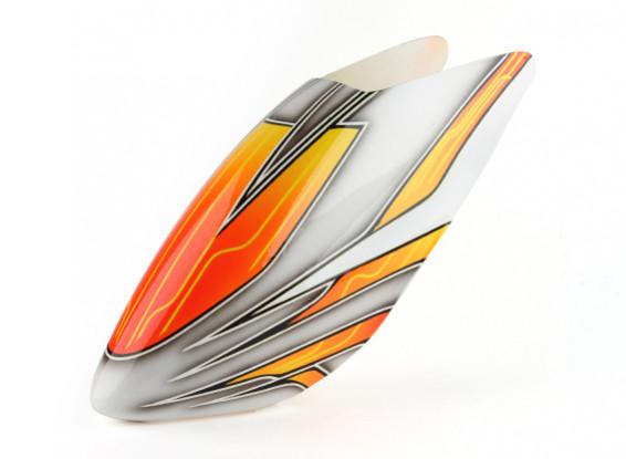 Turnigy High-End Fiberglass Canopy voor Trex / HK 500E (Orange)