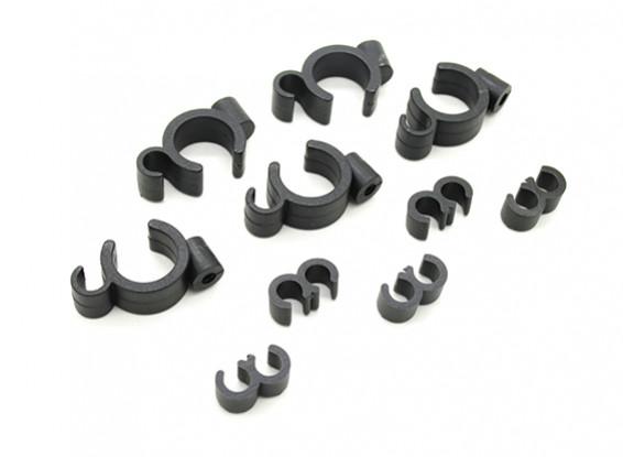 Brandstoffilter / Line montagebeugels (5 sets)