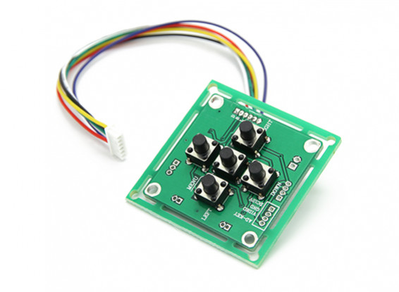 OSD controller voor Sony EXviewHAD CCDII Camera Board.