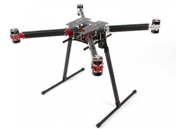 DYS D800 X8 Professional Multi-Rotor luchtfoto's en Heavy Lift Platform (PNF)