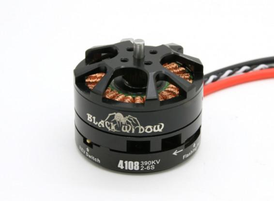 Black Widow 4108-390Kv met ingebouwde ESC CW / CCW