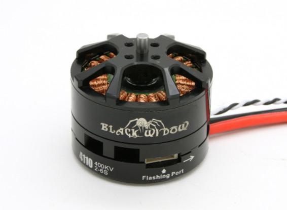Black Widow 4110-400Kv met ingebouwde ESC CW / CCW