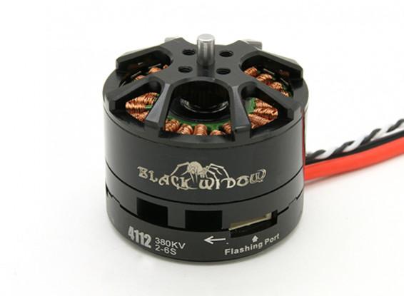 Black Widow 4112-380Kv met ingebouwde ESC CW / CCW