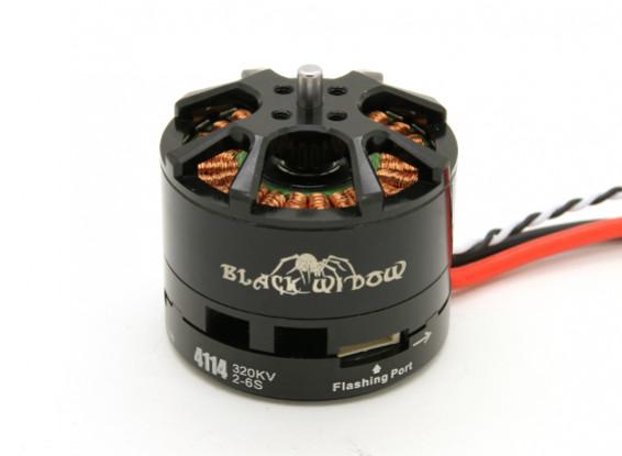 Black Widow 4114-320Kv met ingebouwde ESC CW / CCW