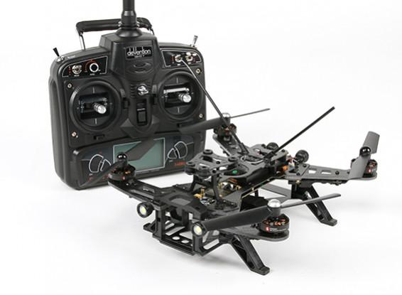 Walkera Runner 250 FPV Racing Quadcopter w / Mode 1 Devo 7 / accu / lader (RTF)