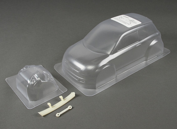 01:10 Super 1600 Swift Clear Body Shell (voor M chassis)