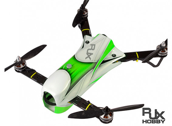 RJX CAOS 330 FPV Racing Quadcopter Combo w / Motor, ESC en Flight Controller (Groen)