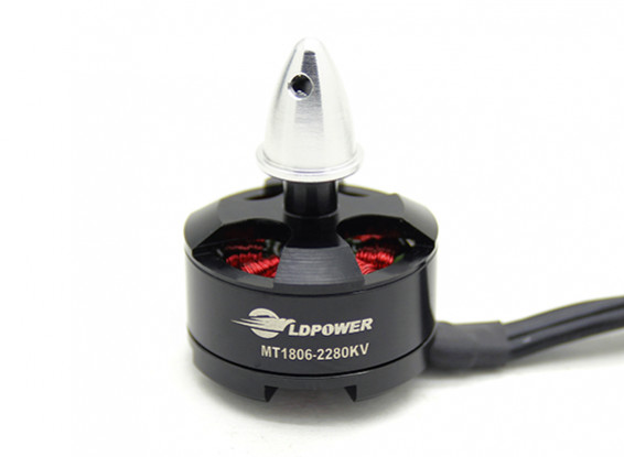 LDPOWER MT1806-2280KV borstelloze Multicopter Motor (CW)